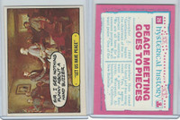 1975 Topps, Hysterical History, #26 Let Us Have Peace, Robert E Lee