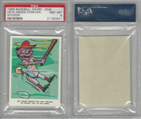 1966 Fleer, Baseball Weird-Ohs, He's Jinxed Forever & Forlorn, PSA 8 NMMT