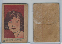 W512 Strip card, Famous People, 1926, #20 Corinne Griffith