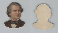 Y95 Die Cuts, Presidents, 1890's, Andrew Johnson