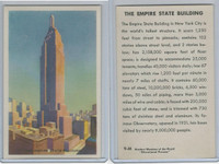 W608-5 Educational, Modern Wonders, 1950's, #9 Empire State Building