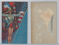 W424-2b Mutoscope, Artist Pin-Up Girls, 1945, A Winning Combination USA Flag