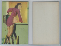 W424-2a Mutoscope, All American Girls, 1941, A Lad-Her Problem
