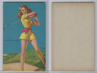 W424-2c Mutoscope, Follies Girls, 1944, Plenty on the Ball, Golf