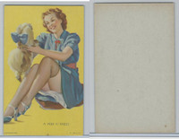 W424-2d Mutoscope, Glorified Glamour Girls, 1940, A Peek-A'-Knees