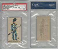 N224 Kinney 1887, Military, Alabama,#76 Montgomery True Blues Ala., PSA 3 VG