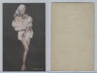 W Card, Exhibit, Showgirls & Pinups, 1960's, (A) Fur Coat