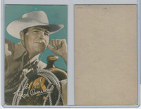 W Card, Cowboys Stars, Color Tint, 1950's, Rod Cameron