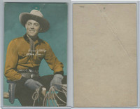 W Card, Cowboys Stars, Color Tint, 1950's, Allan Lane