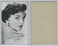 W Card, Exhibit, Salutations Female Singers, 1960's, Kay Starr