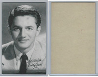 W Card, Exhibit, Salutations Male Singers, 1960's, Buddy Greco