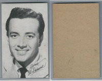 W Card, Exhibit, Salutations Male Singers, 1960's, Vic Damone