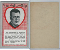 W Card, Exhibit, Your Ideal Love Mate, 1970's, Heaps of Money