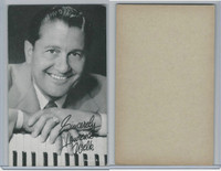 W Card, Exhibit, Band Leaders, 1950's, Lawrence Welk