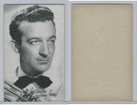 W Card, Exhibit, Band Leaders, 1950's, Harry James