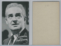 W Card, Exhibit, Band Leaders, 1950's, Fred Waring