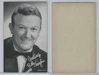 W Card, Exhibit, Band Leaders, 1950's, Billy Vaughn