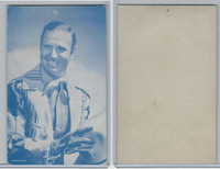 W Card, Cowboys Stars, Blue Tint, 1950's, Gene Autry (1)