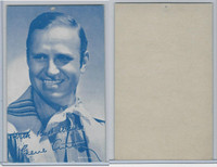 W Card, Cowboys Stars, Blue Tint, 1950's, Gene Autry (2)