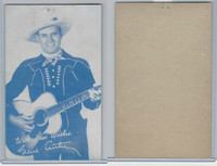 W Card, Cowboys Stars, Blue Tint, 1950's, Gene Autry (10)