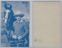 W Card, Cowboys Stars, Blue Tint, 1950's, Gene Autry (14)