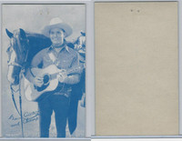 W Card, Cowboys Stars, Blue Tint, 1950's, Gene Autry (17)