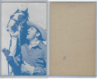 W Card, Cowboys Stars, Blue Tint, 1950's, Gene Autry (18)