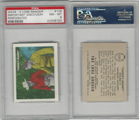 W536-2 Ed-U-Cards, Lone Ranger, 1950's, #109 Important Discovery, PSA 8 NMMT