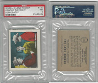 W536-2 Ed-U-Cards, Lone Ranger, 1950's, #120 Uphold the Right, PSA 7 NM