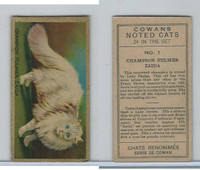 V17 Cowan's, Noted Cats, 1925, #1 Champion Fulmer Zaida