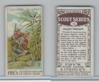 V39  J.S. Fry, Scout Series, 1912, #10 Woodcraft Stalking