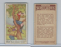 V40  J.S. Fry, Scout Series, 2nd Series, 1912, #43 A Look-Out