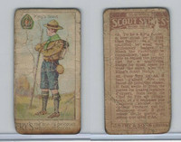 V40  J.S. Fry, Scout Series, 2nd Series, 1912, #49 Kings Scout