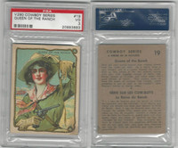 V290 Hamilton, Cowboy Series, 1930's, #19 Queen Of The Ranch, PSA 3 VG