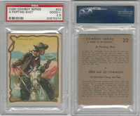 V290 Hamilton, Cowboy Series, 1930's, #22 A Parting Shot, PSA 2.5 Good+