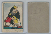 V339-3 Parkhurst, Color Comic, Blank Back Type, 1951, #34 The Captain