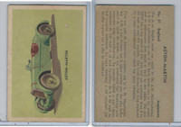 V339-14 Parkhurst, Sports Car Cards, 1956, #31 Aston Martin