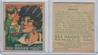 V359-1 World Wide Gum, Sea Raiders, 1933, #42 Alwilda
