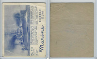 V403-1 World Wide, Marine Bubble Gum, 1944, #118 HMS Cumberland
