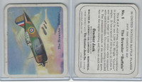 V407-2 Lowney, United Nations Battle Planes, 1940's, #6 Brewster Buffalo