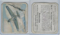 V407-2 Lowney, United Nations Battle Planes, 1940's, #9 Curtiss Tomahawk