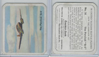 V407-2 Lowney, United Nations Battle Planes, 1940's, #34 Percival Q6