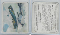V407-2 Lowney, United Nations Battle Planes, 1940's, #42 Fairey Fulmar