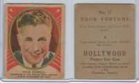 V289 Hamilton, Hollywood Picture Stars, 1938, #17 Dick Powell