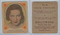 V289 Hamilton, Hollywood Picture Stars, 1938, #26 Marion Shockley
