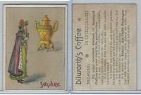 K122 Dilworth, Cards Of Months & Weeks, 1900, Sunday