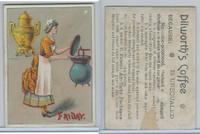 K122 Dilworth, Cards Of Months & Weeks, 1900, Friday