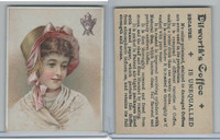 K Card, Dilworth Coffee, 1890's, Women, 1