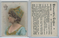 K Card, Dilworth Coffee, 1890's, Women, 3