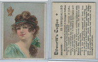 K Card, Dilworth Coffee, 1890's, Women, 4